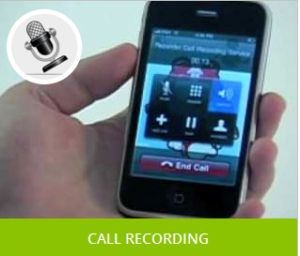 track a cell phone - call recording