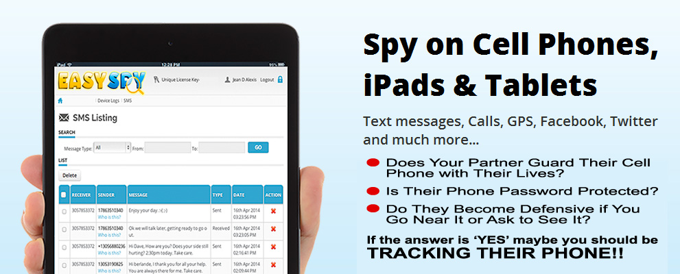 How to Track a Cell Phone - Easyspy Cell Phone Tracker