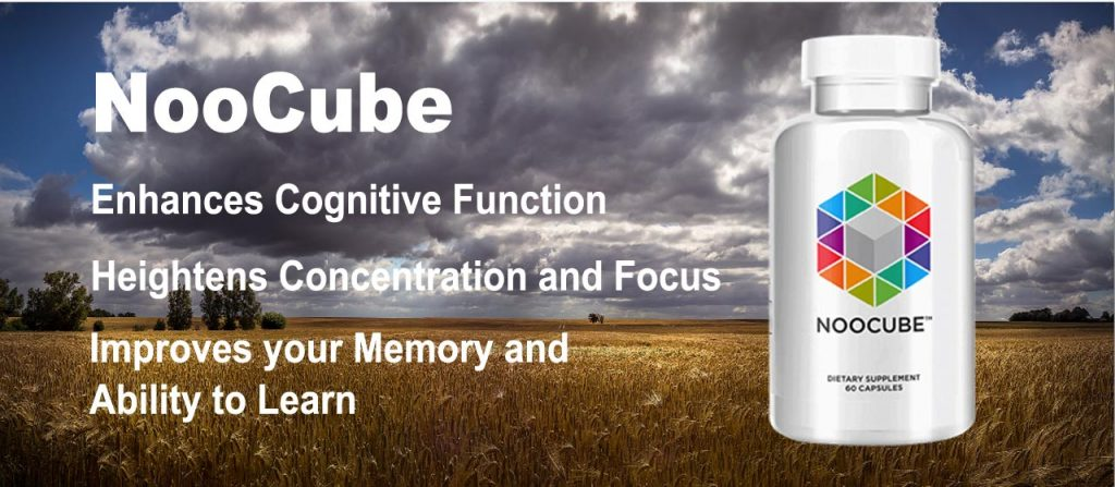 Noocube Nootropic Product Pic